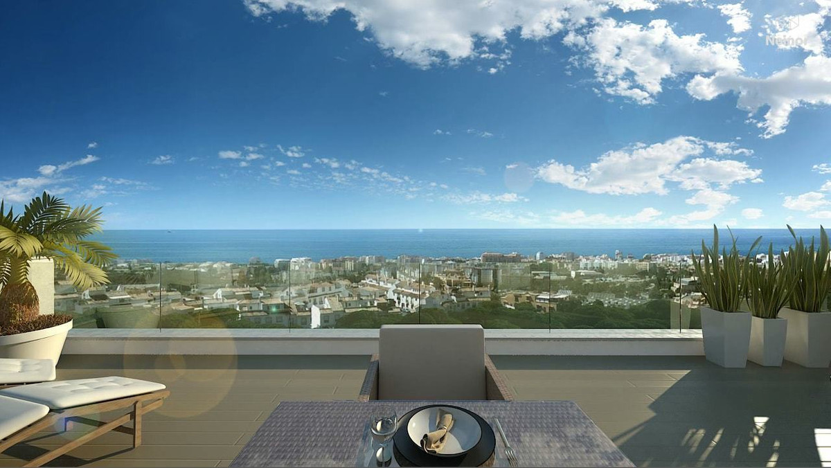 spacious terraces that allow for unbeatable views of the beautiful Spanish coast