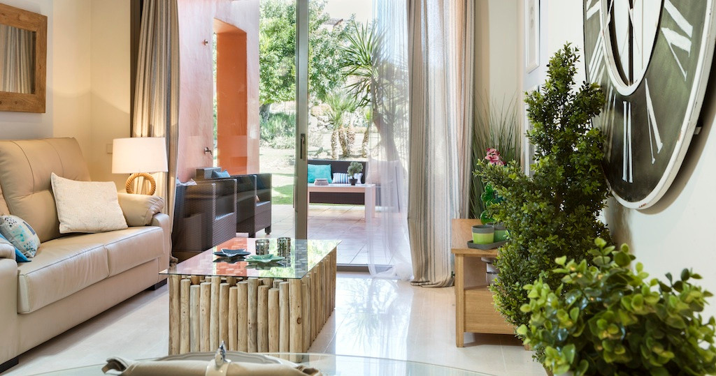 Tropical style resort with gym and swimming pools near Puerto Banus