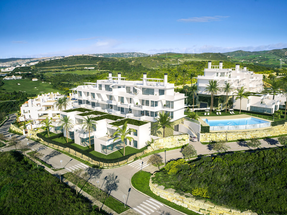 Spacious apartments in the hills of the Finca Cortesin Resort