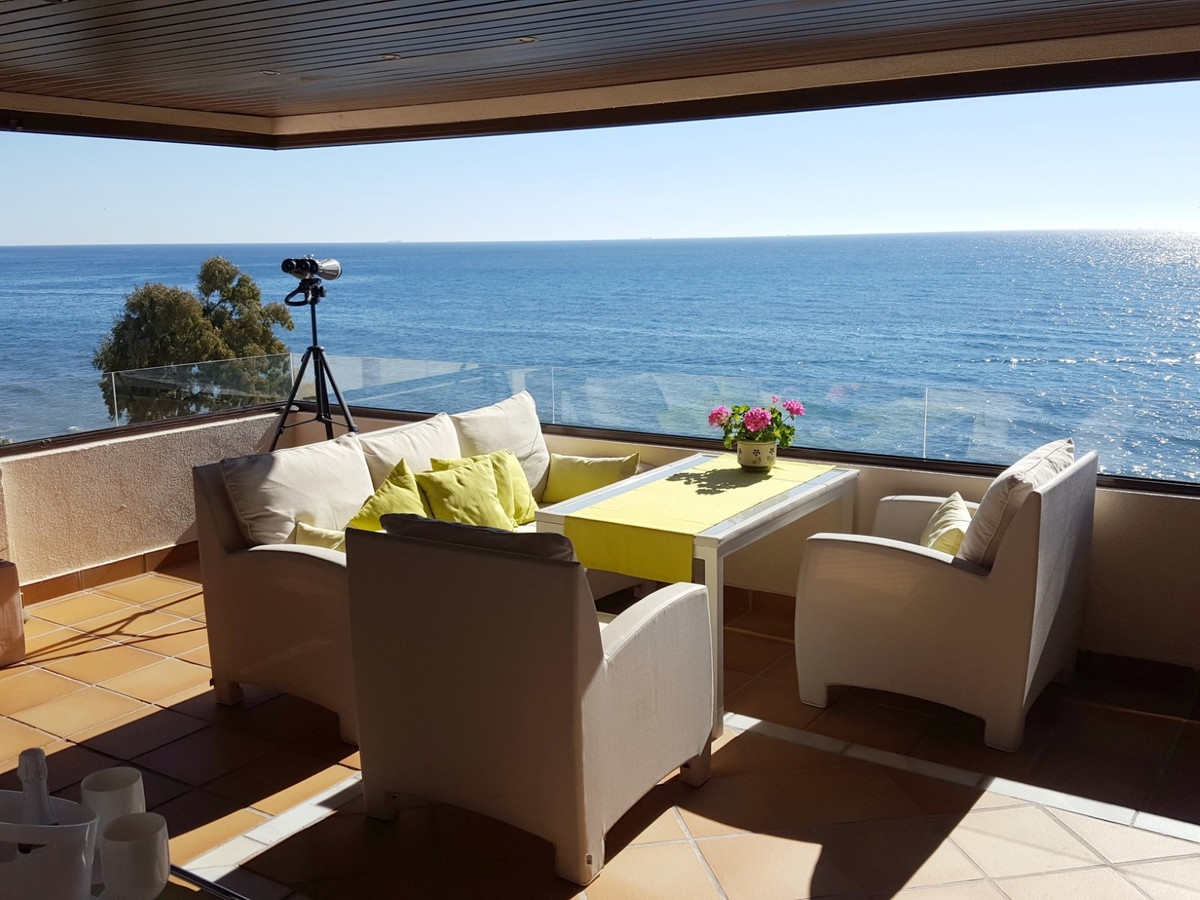 YOU CAN'T BE CLOSER TO THE SEE AND HAVE A BETTER VIEW !!!  Exclusive 2 bed 2 bath apartment bui,Spain