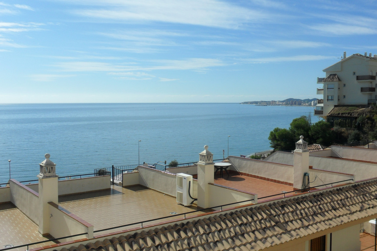 A 2 bedroom penthouse apartment in Caravajal with great rental potential and benefiting from a garag,Spain
