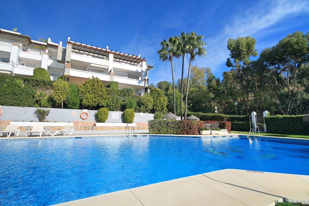 Newly renovated three bedroom ground floor apartment within the Los Arqueros estate and a couple of ,Spain