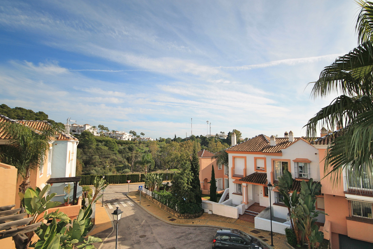 Spacious, south facing and bright, two bedroom townhouse in a quiet part of the Nueva Andalucia golf, Spain