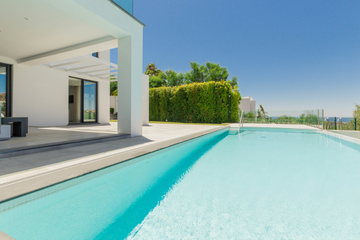 Recently completed, modern design villa with a naturally bright interior, private swimming pool and , Spain