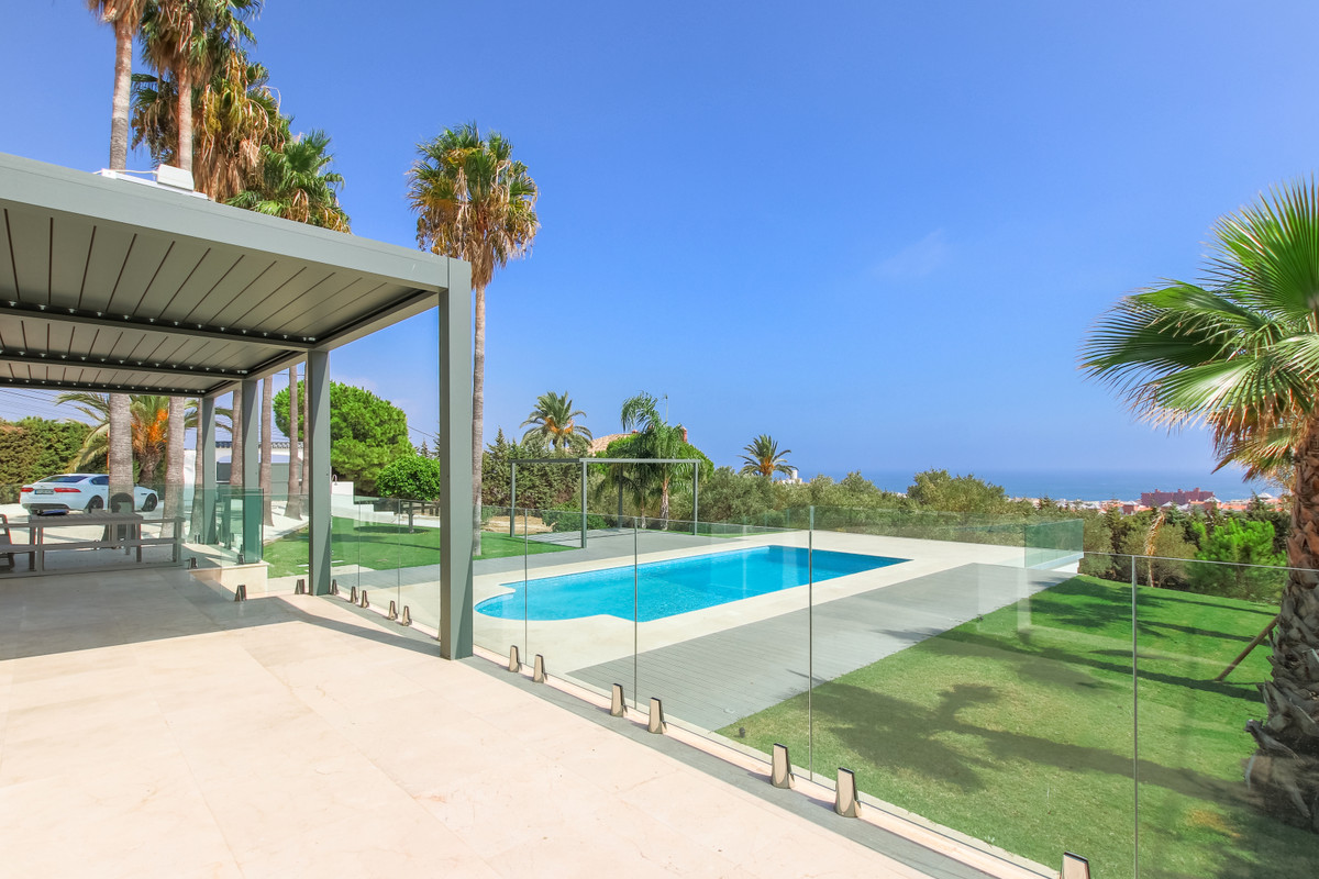 Brand new, south facing, luxury detached home with panoramic sea views and within walking distance o,Spain