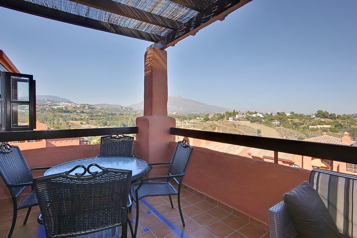 Bright, three bedroom duplex penthouse with panoramic southeastern views of the sea and La Concha.  , Spain