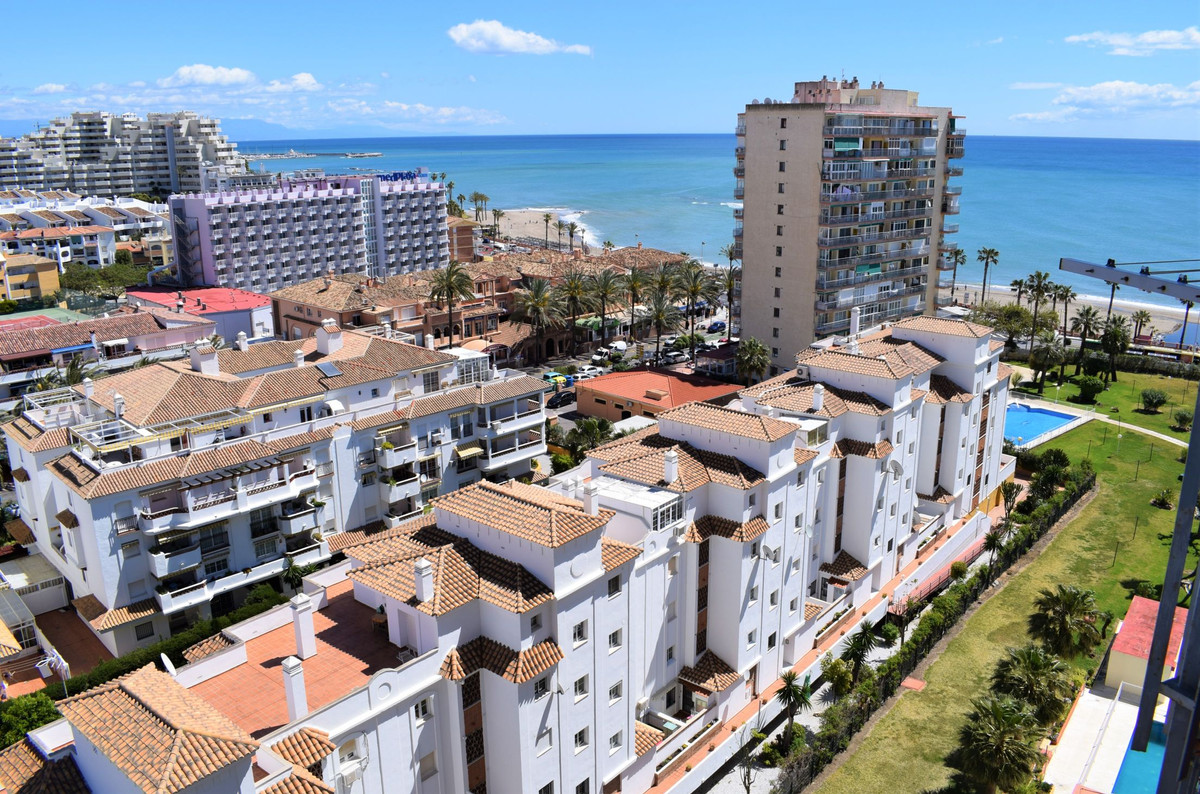 The studio: -30m2. -Southeast orientation. -Terrace. -Views to the sea. -11st floor. -Lift. -Pool an, Spain
