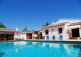 This Spectacular property is situated in the peaceful location of Benissa.  With its 5 Bedrooms, andSpain
