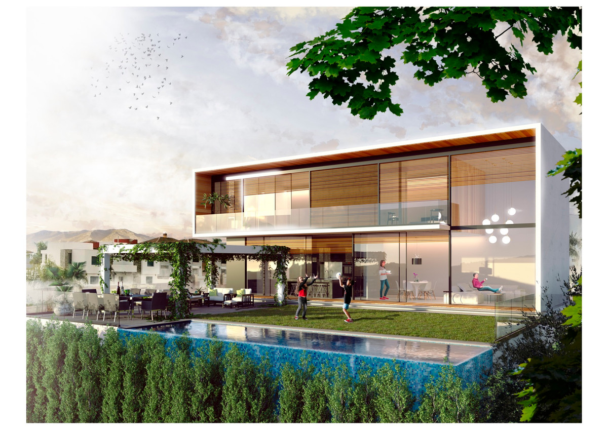 Off plan Villa in La Sierrezuela, Mijas Costa Situated in an exclusive area with new contemporary vi, Spain