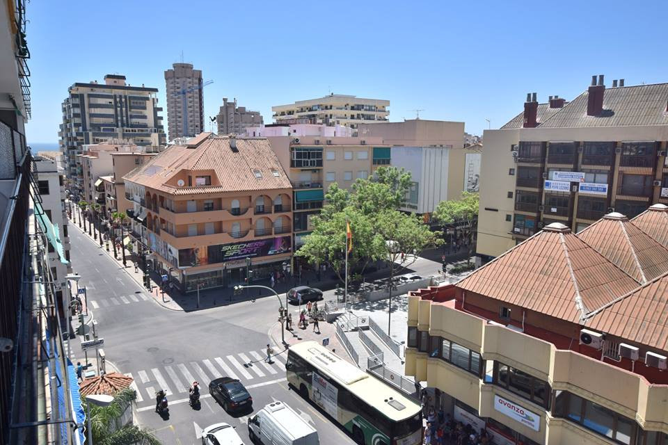 Apartament located in centre of Fuengirola 3 bedrooms 2 bathrooms Fitted wardrobes  Sea view Indepen,Spain