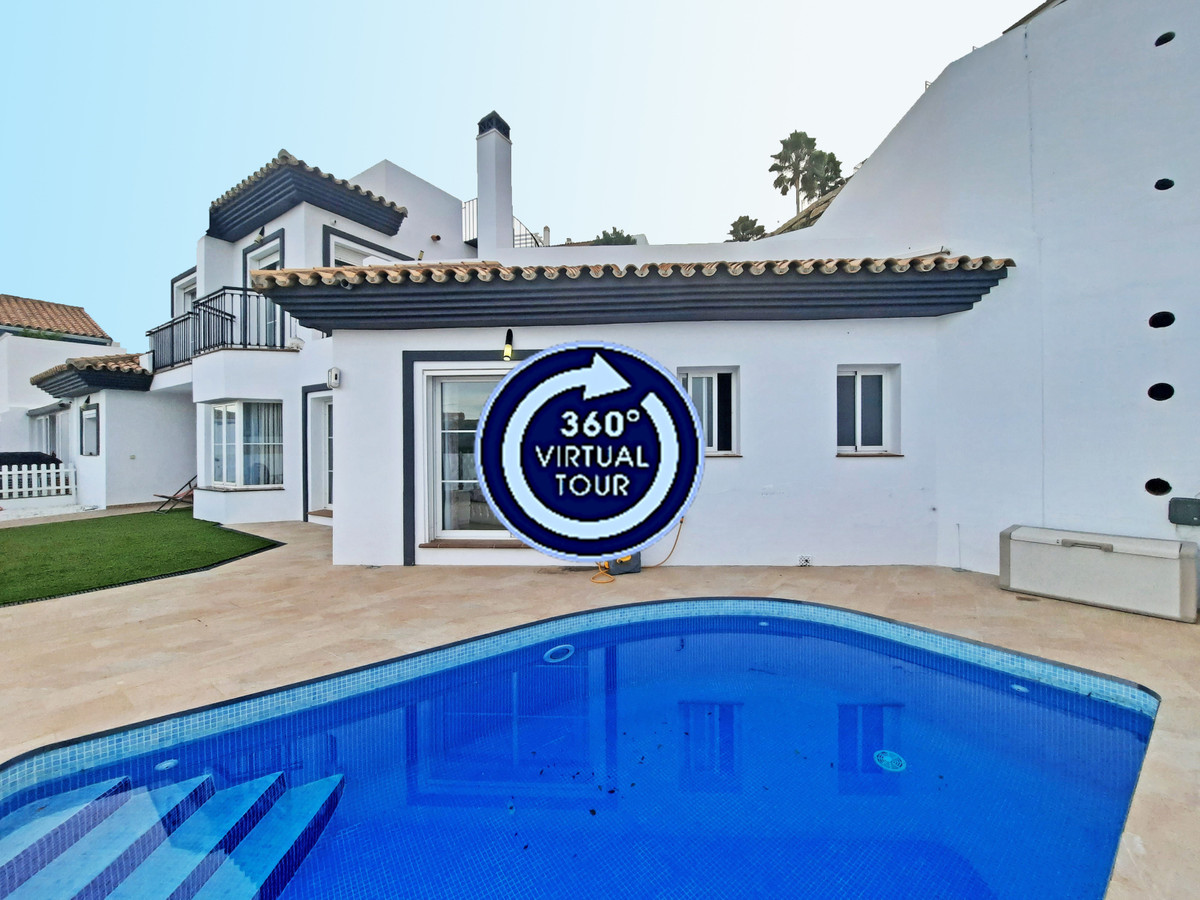 Fantastic family home with a comfortable layout, panoramic sea views and a private swimming pool sit,Spain