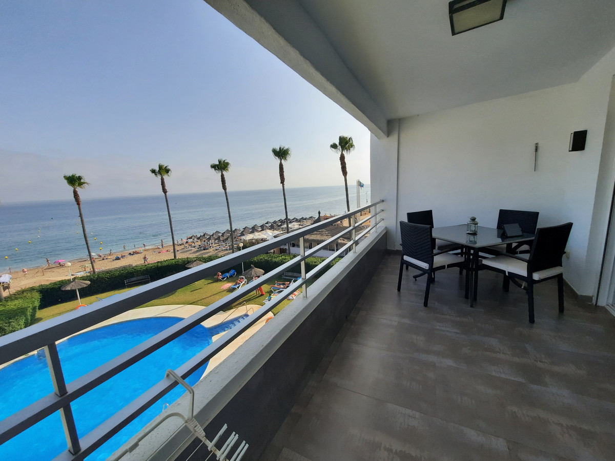 Unbeatable location and sea view for this fully renovated frontline beach studio in Calahonda.  When,Spain