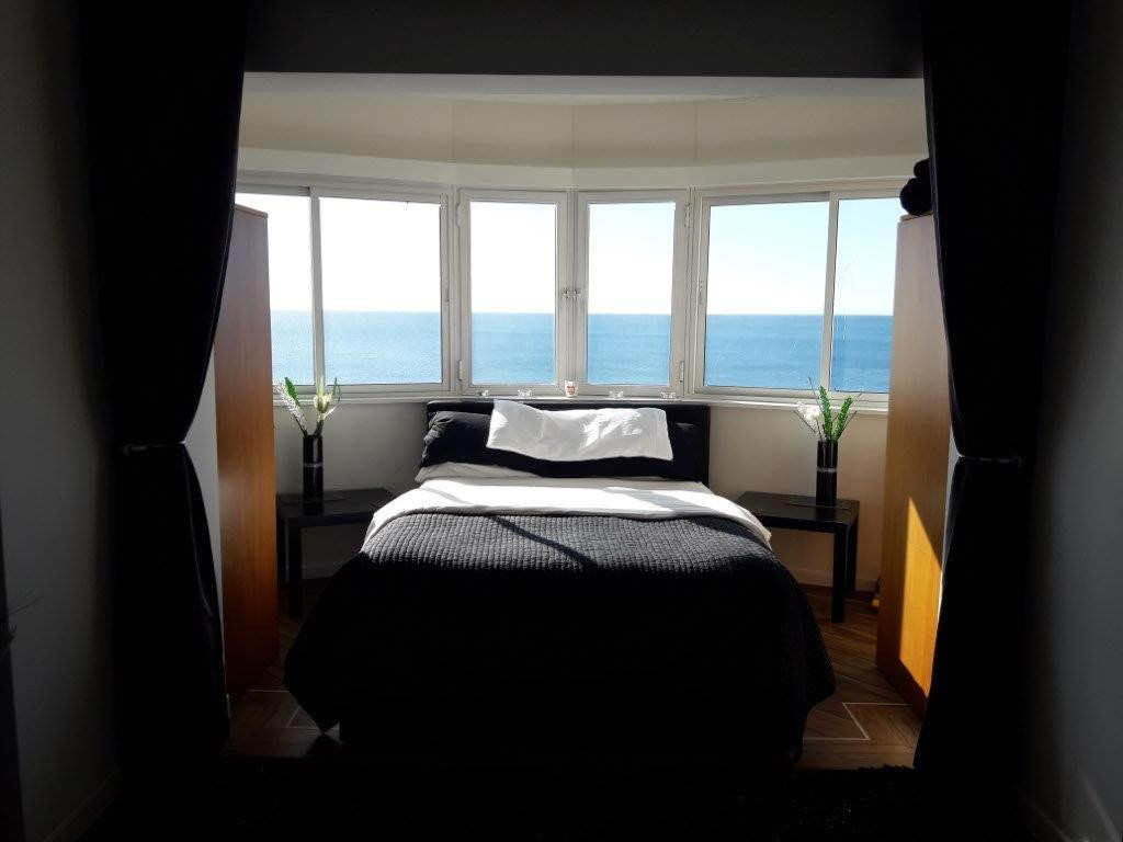 Front line beach studio apartment with stunning panoramic sea views in Riviera del Sol. The apartmen,Spain