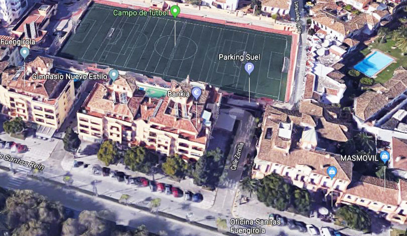 Parking space in the heart of Fuengirola in Aparcamientos Suel. Leasehold 35 years renewable. Dimens, Spain