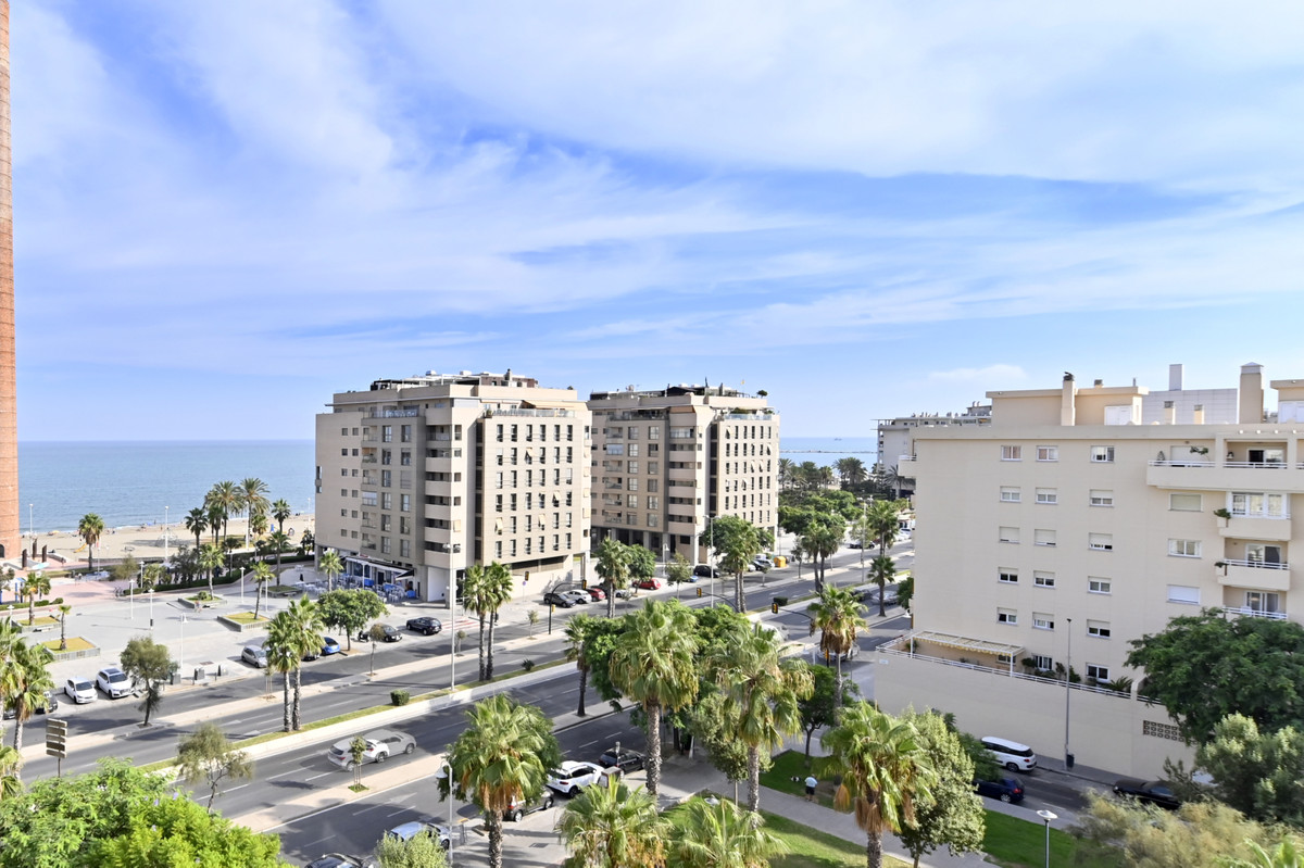 Bright top floor apartment in Pacifico Avenue in Malaga. It has been renovated, one of the bedrooms ,Spain