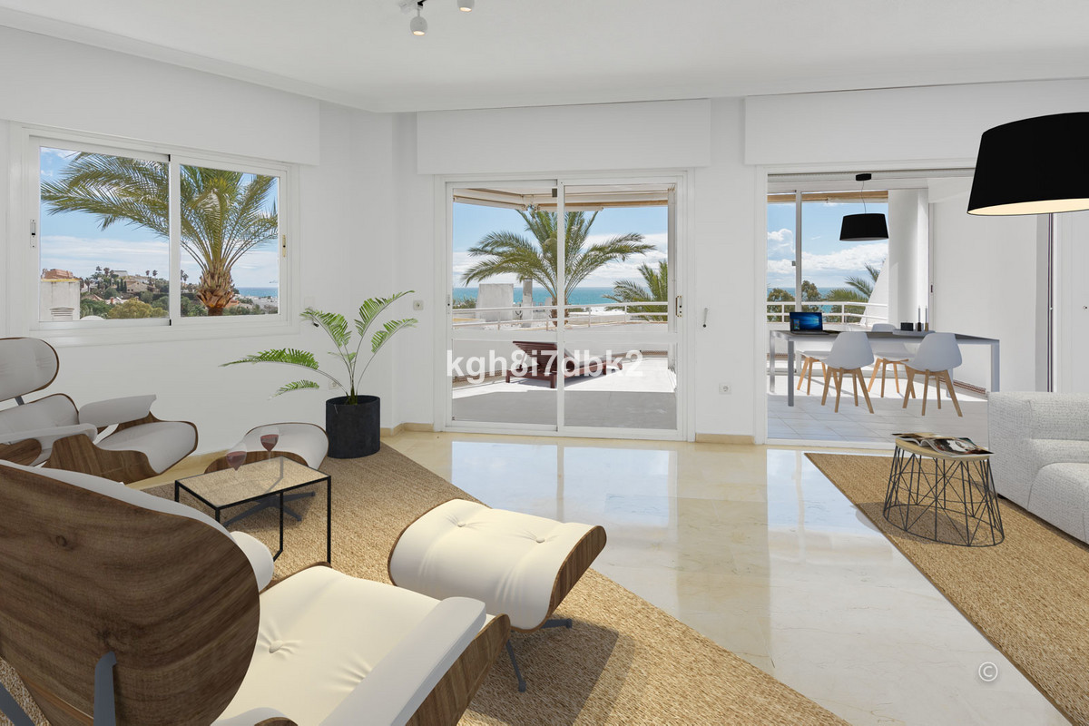 Spacious 3 bed apartment in gated urbanization surrounded by the Torrequebrada golf course. Panorami,Spain
