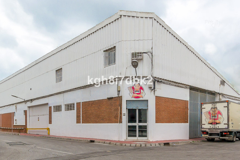 Warehouse, Malaga, Costa del Sol. Built 373 m², Garden/Plot 373 m².  Setting : Commercial Area. Cond, Spain