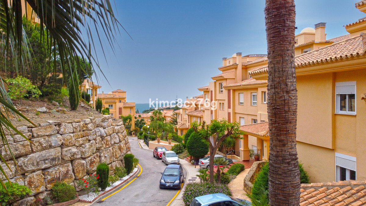 Great 3 bedroom corner apartment in Princess Park, the best community in Calahonda.  Very private an,Spain