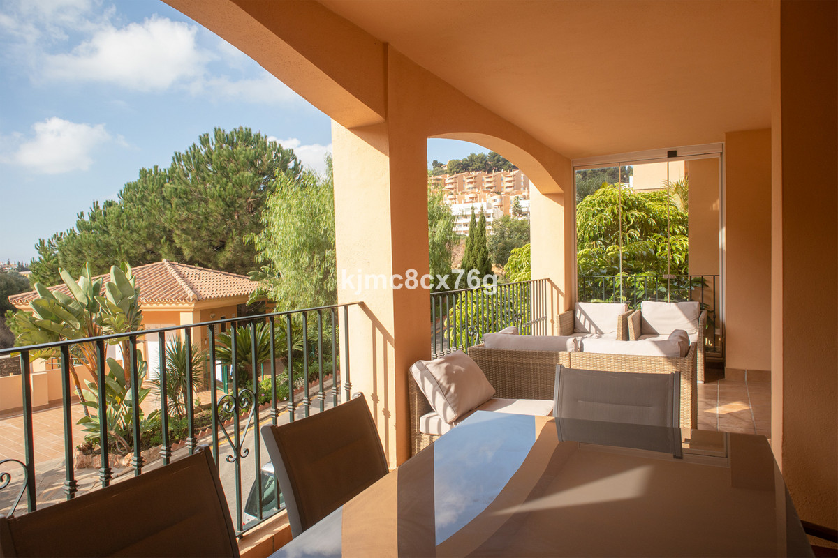 Nice and spacious flat in Princess Park, one of the best residences in Calahonda (Mijas Costa).  The,Spain