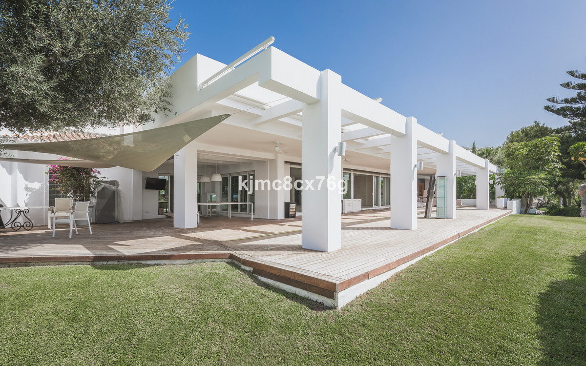 Luxurious fully renovated villa in Cascada de Camojan, Sierra Blanca (Marbella).  The property is di, Spain