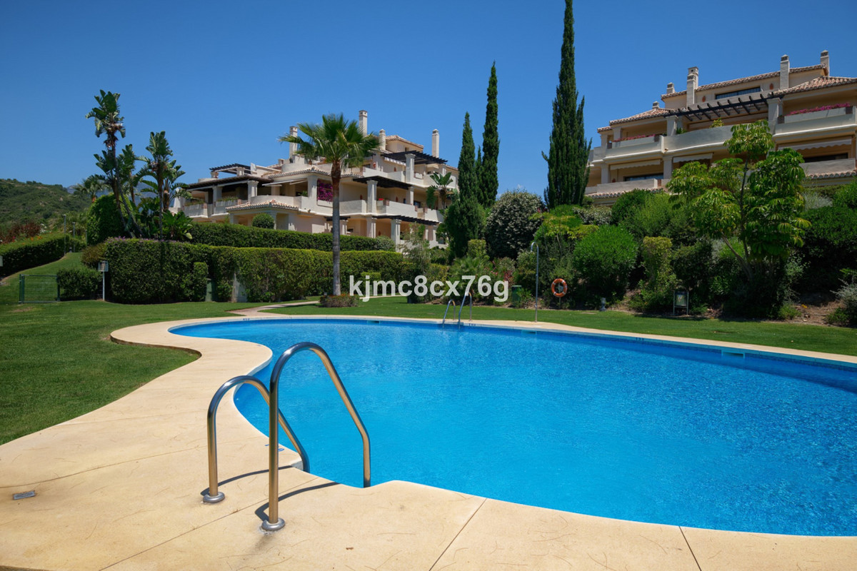 Luxury duplex for sale in Capanes del Golf (Benahavis).  This wonderful apartment offers beautiful v, Spain