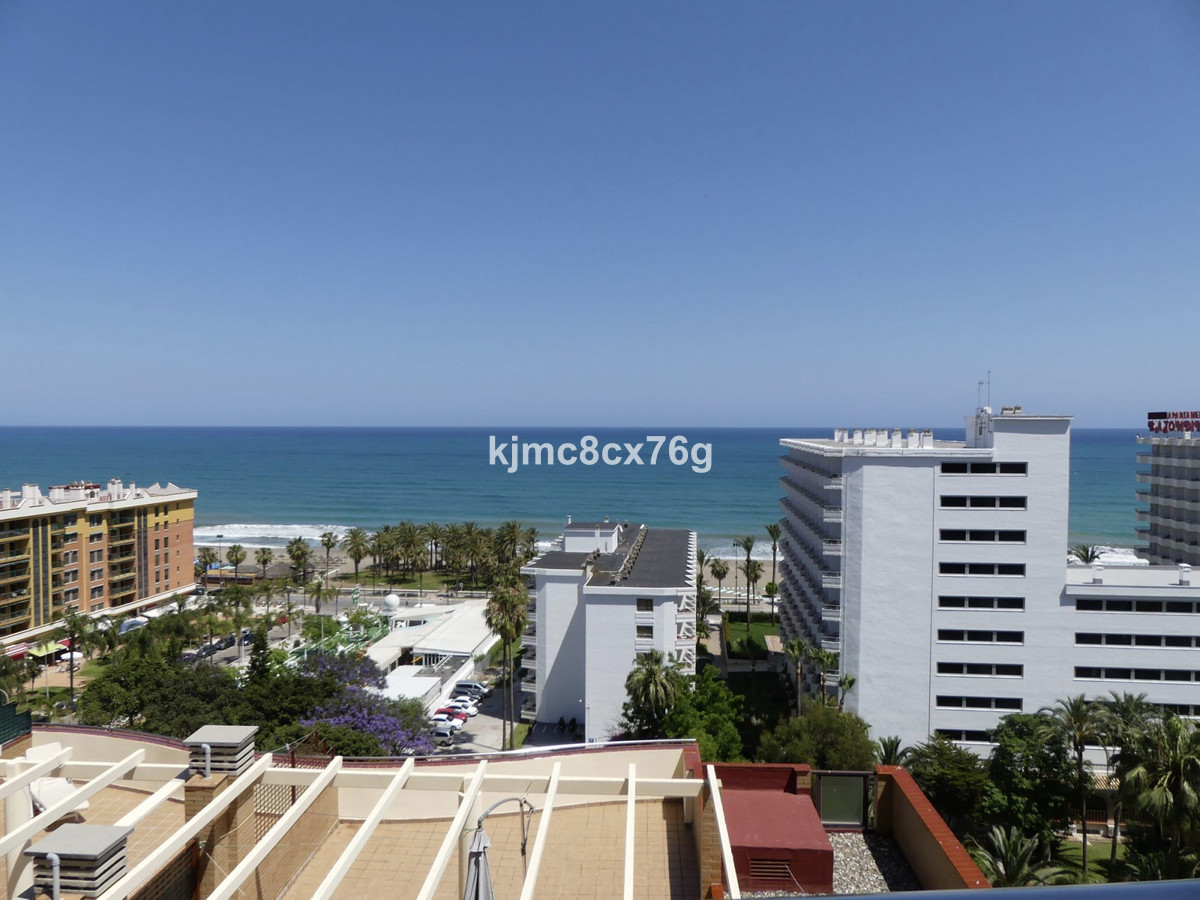 Apartment one step from the beach in the best location in Torremolinos.  The property, quiet and sun, Spain