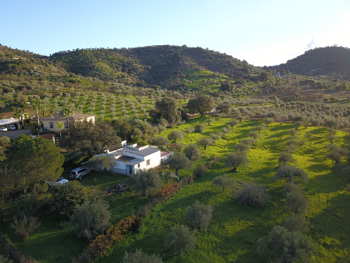 18.000m2 of land and house to be renovated  Farm located between Guaro and Tolox, 1km from the A-366,Spain