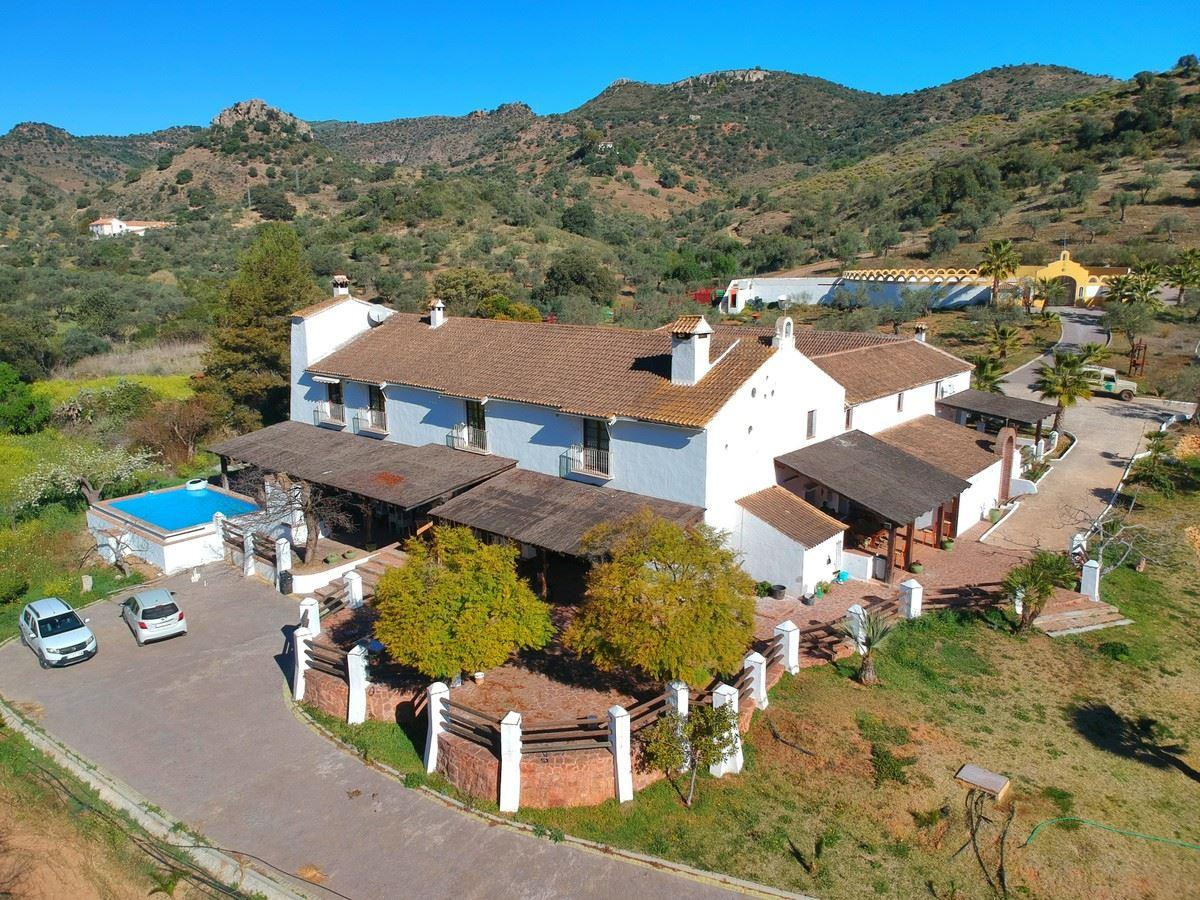 Beautiful Cortijo in Almogia, Andalusia. This stunning country property has a cortijo with a courtya,Spain