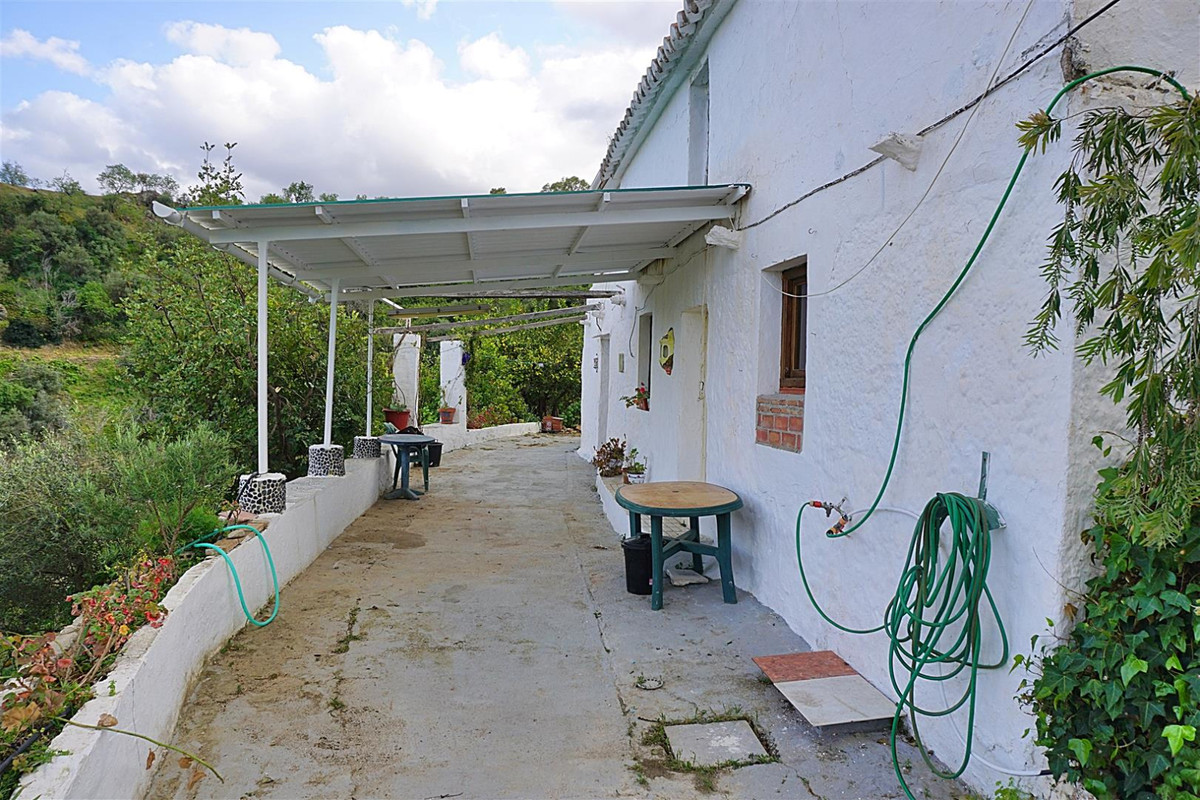 Traditional cottage located only 800 metres from the whitewashed village of Casarabonela.   The char,Spain