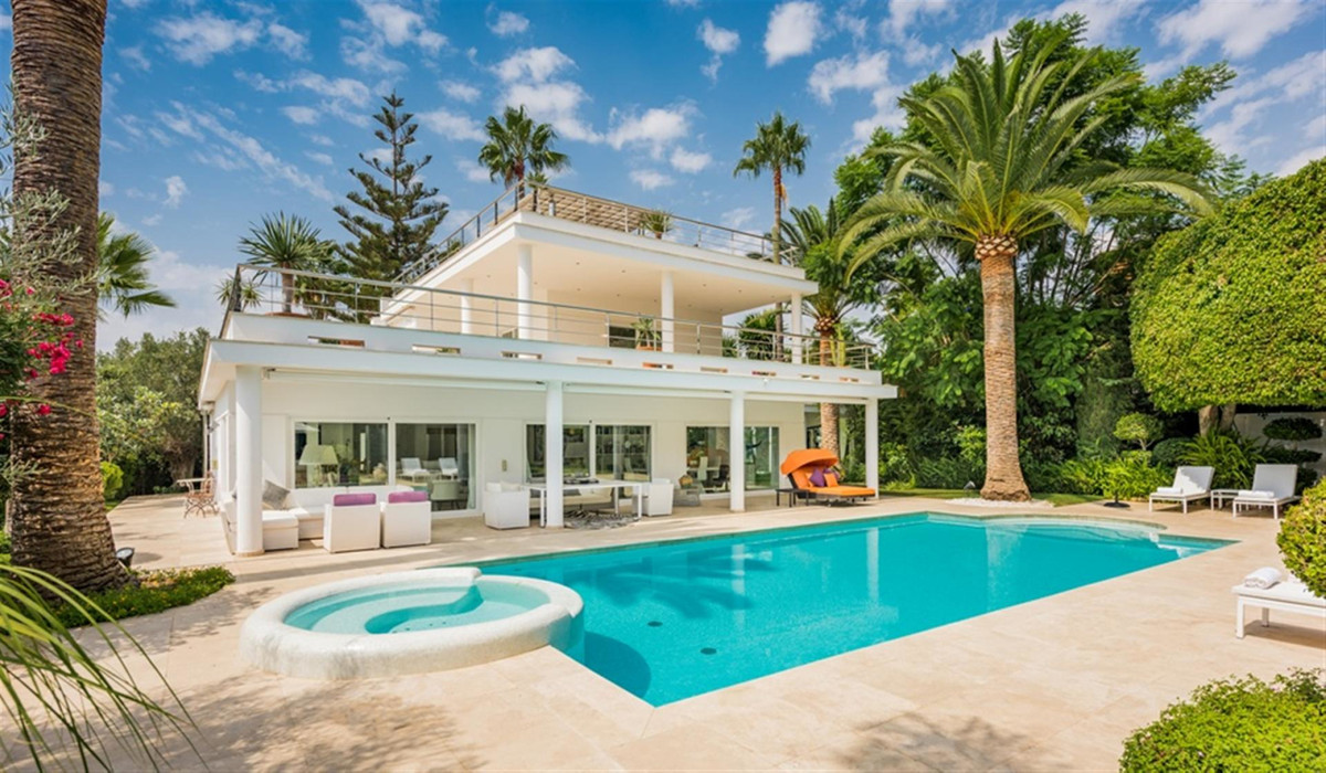 This 6 bedroom Villa has recently undergone complete refurbishment, to create a wonderful contempora, Spain