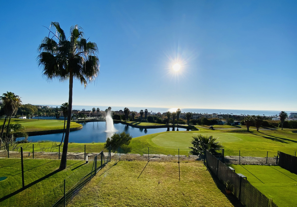 Very nice and well located corner apartment with phenomenal views over the Golf of Dona Julia and th, Spain
