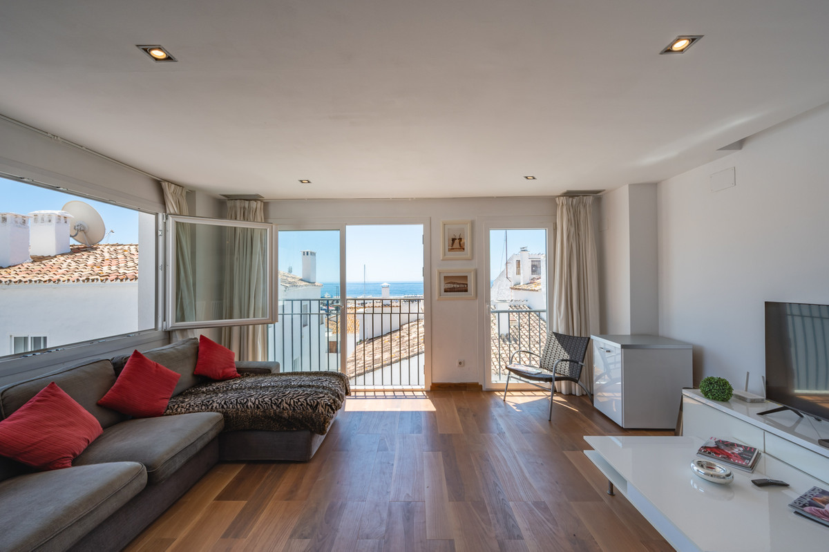 Spacious apartment for sale in the port of Puerto Banus.  Bright and south-facing with incredible se,Spain