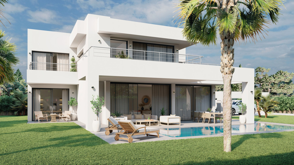 Contemporary west facing villa, enjoying natural light, peace and serenity, located only 800 meters ,Spain