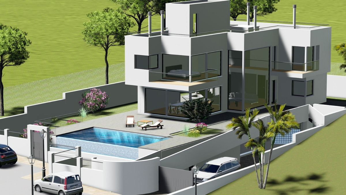 "PROJECT OF MODERN LUXURY VILLAS IN URB. LA CALA GOLF RESORT - MIJAS  ""Sol Villas La Cala Golf R, Spain"