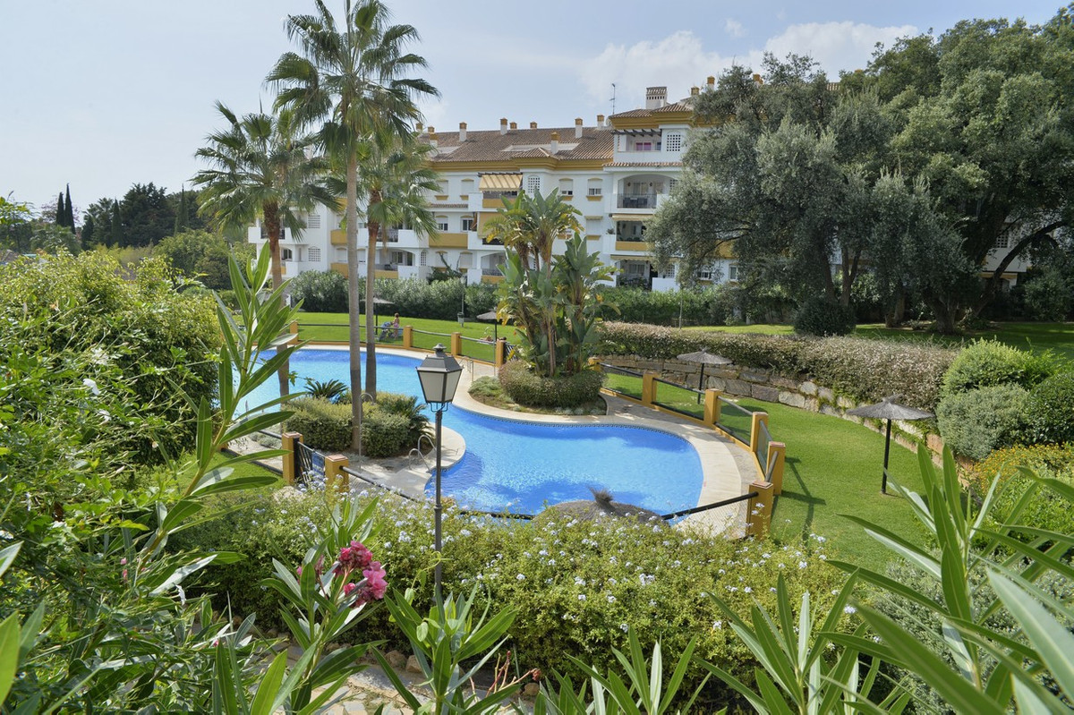 Marbella, Nagueles, 2 bedroom apartment with terrace and garden. This apartment will not leave you i,Spain