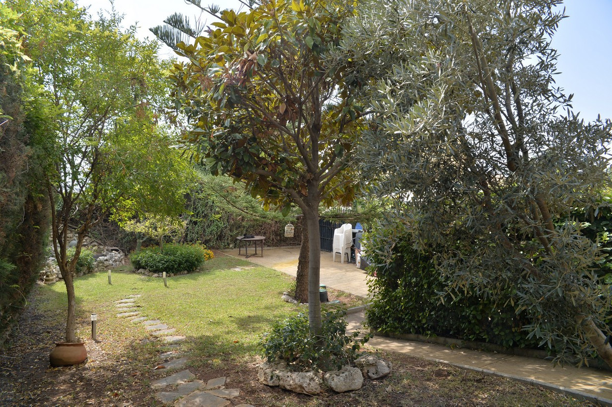 Marbella, near hotel Don Miguel, Semi Detached Villa with private garden and sea views In a gated co,Spain