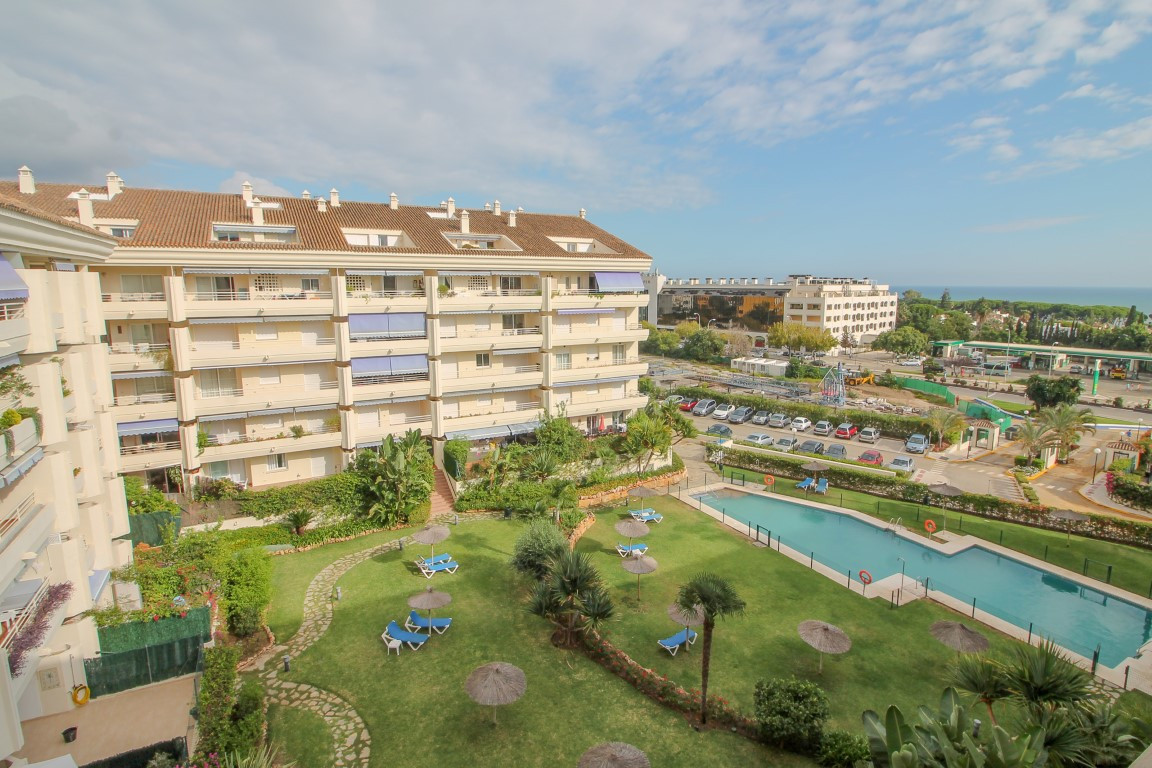 Wonderful penthouse apartment in the Golden Mile of Marbella. One of the most sought after complex i,Spain