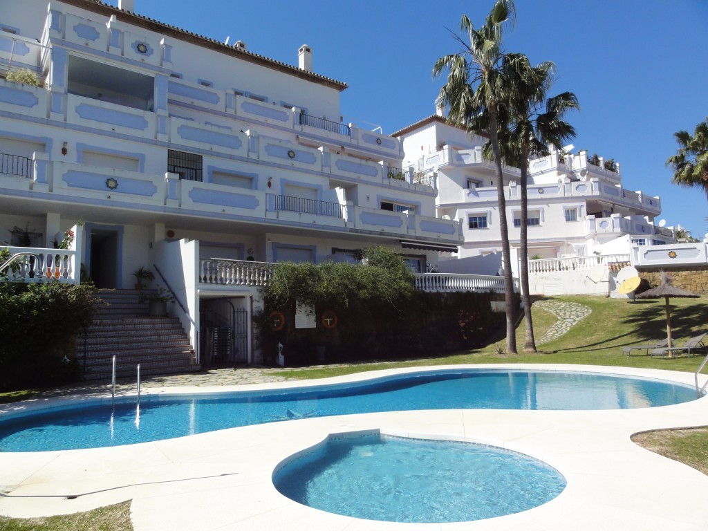 RESERVED Three bedroom duplex top floor apartment in a fantastic location in Nueva Andalucia.  The p, Spain