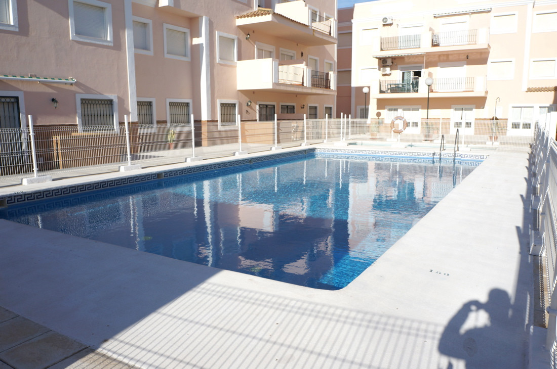 APARTMENT IN TORREGUADIARO 100 METERS FROM THE BEACH.  Sale of 68 m2 apartment in lovely urbanizatio, Spain