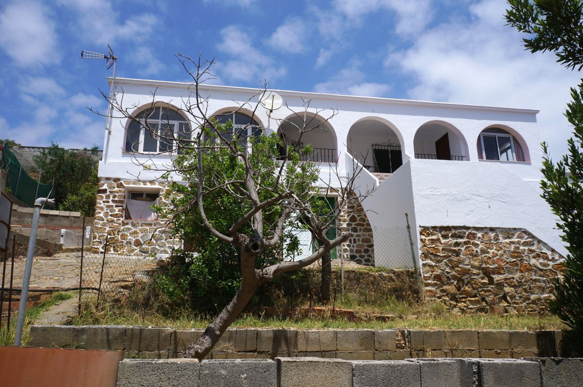 Location, Location, Location. A village House in Torreguadiaro for sale. One of the few 2nd line bea,Spain