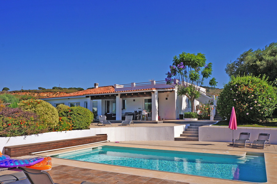 Fantastic new renovated villa with stunning sea views. The property has 4 bedrooms and 4 bathrooms. ,Spain
