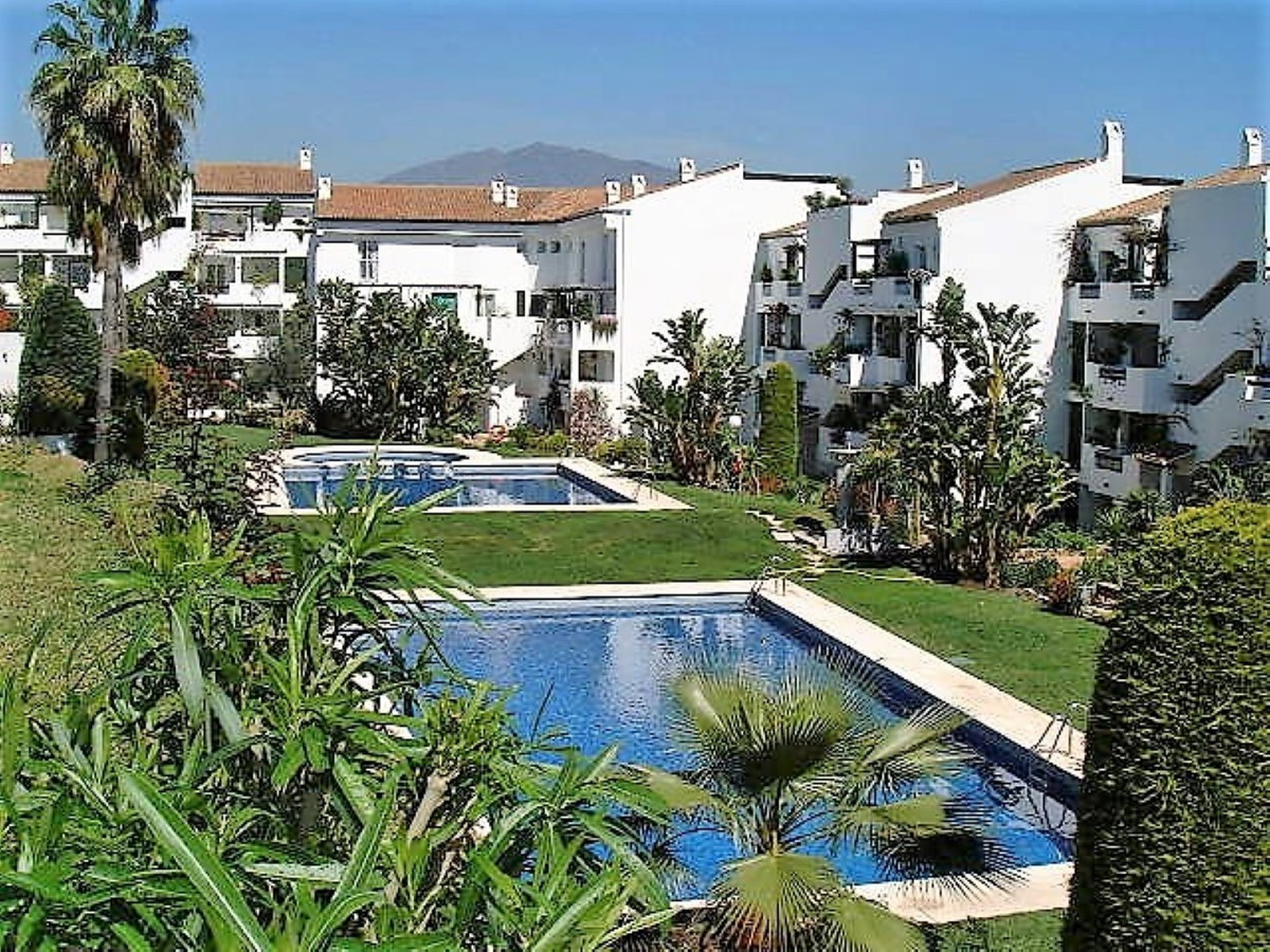 A very spacious, first floor apartment located in one of the most beautiful, gated complexes in the ,Spain