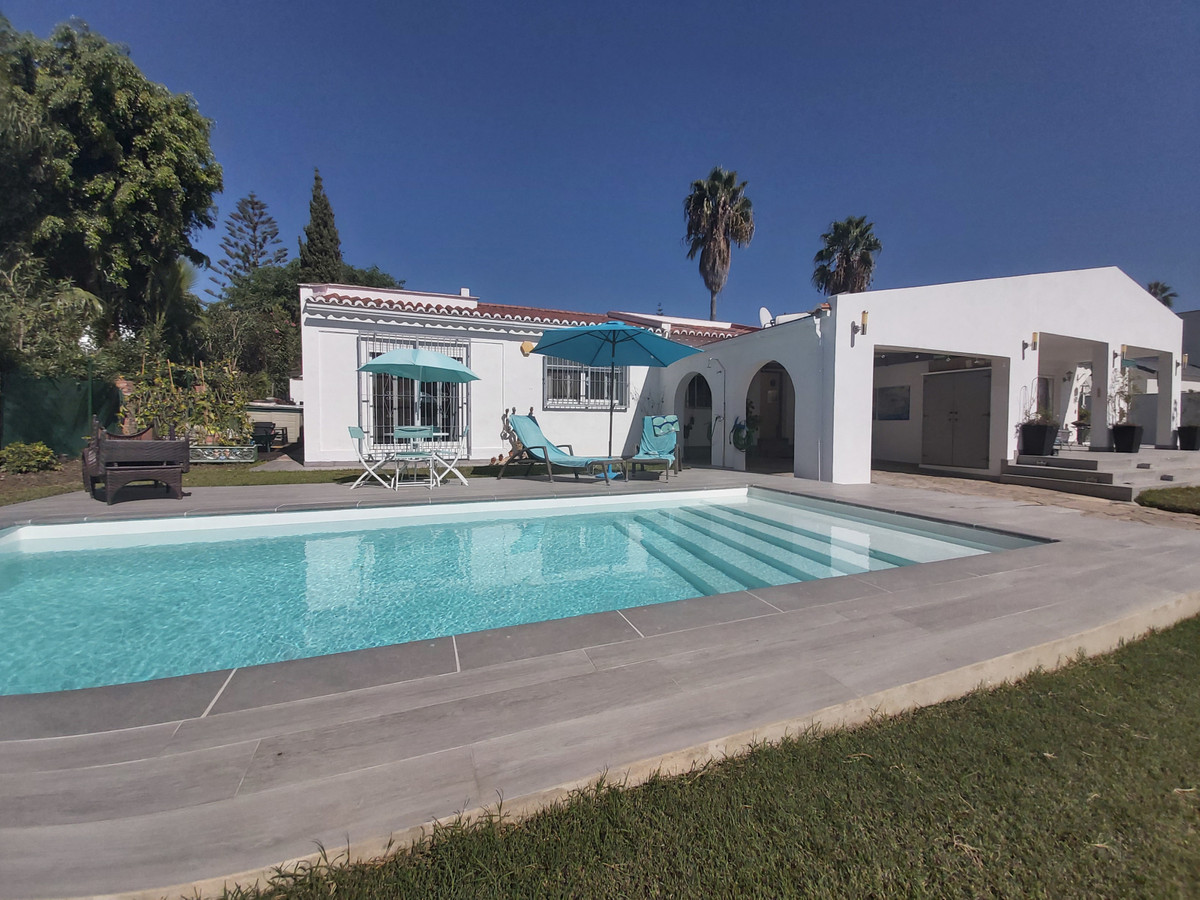 Spacious bungalow with private pool located within an easy, gentle walk to shops and restaurants.   ,Spain
