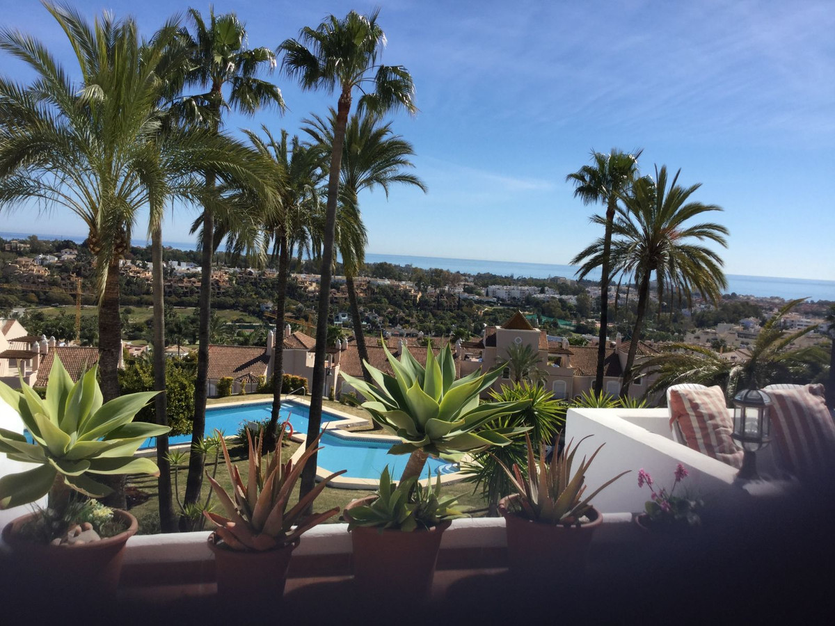 Large terraces overlooking the Mediterranean and montains of Marbella make this three bedroom apartm,Spain