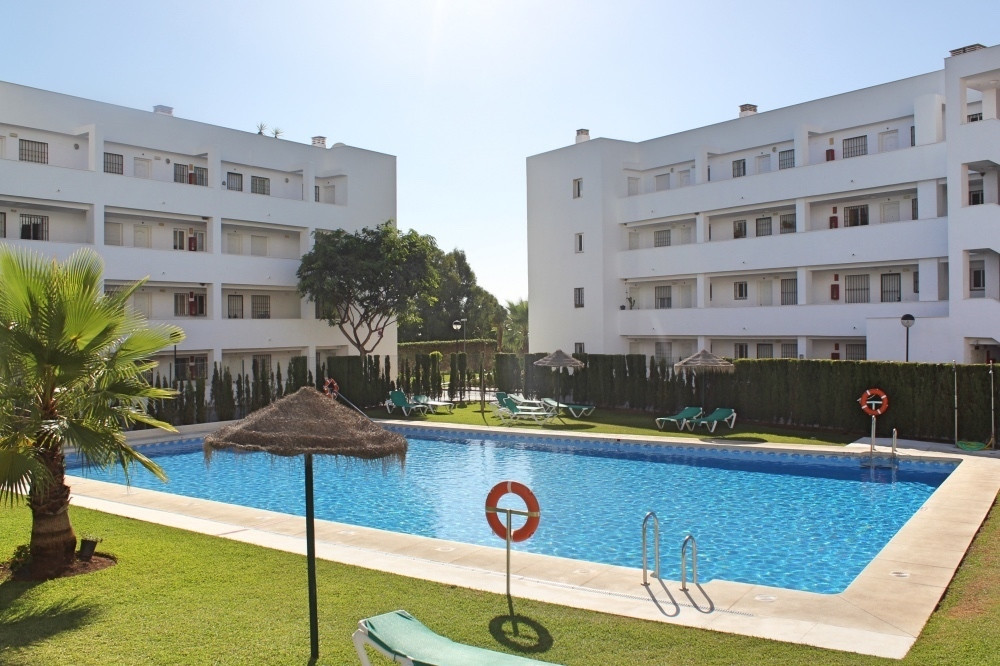 Location Location 450m to the beach. This ground floor apartment with large 157m private garden and , Spain