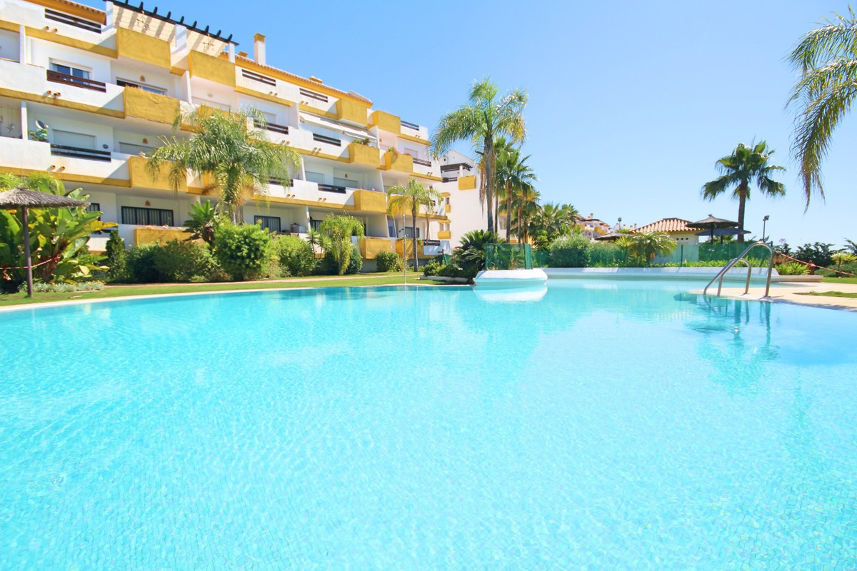 This bright luxury ground-floor 2 bedroom 2 bathroom apartment with front and rear terraces is locat,Spain