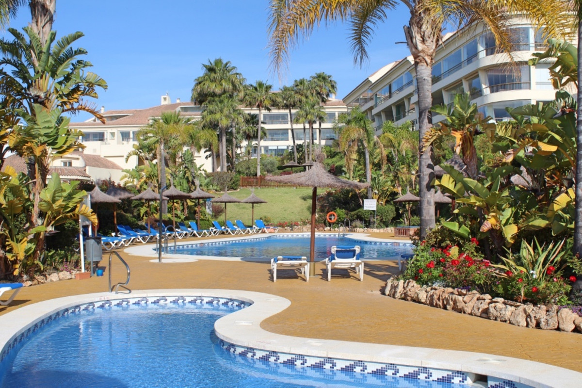 Beautifully presented and unusually large 2 bed, south east facing, ground floor apartment situated ,Spain