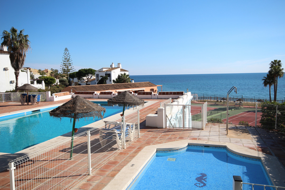 Location Location Front line beach studio ground floor apartment having just been reformed with new ,Spain