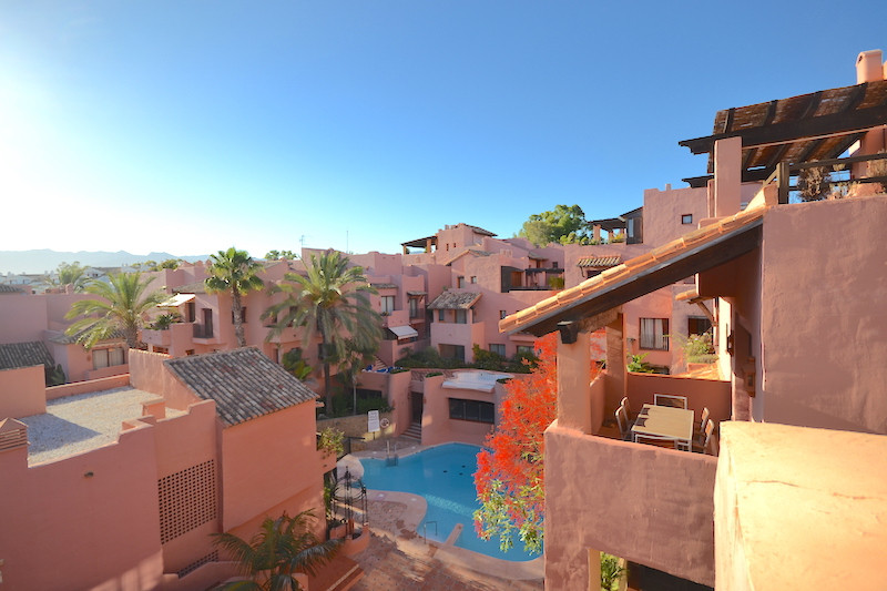 Luxury duplex penthouse located in a beachside complex in Elviria. The Urbanization is located only ,Spain