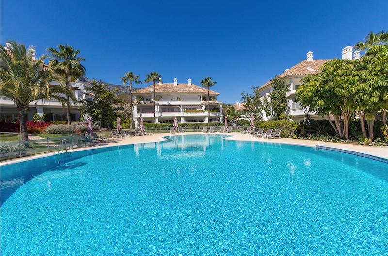 Marbella Banus Apartamento Planta Baja en Venta en The Golden Mile – R3083449